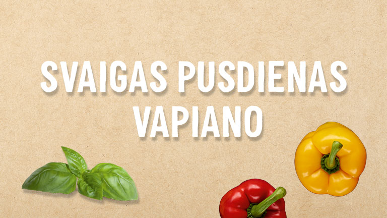Svaigas pusdienas Vapiano